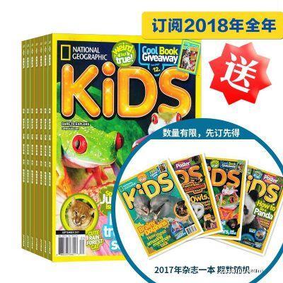 美国国家地理儿童版(英文原版)National Geographic Kids