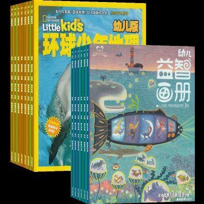 环球少年地理幼儿版+幼儿益智画册4-7岁(综合版+游戏版)
